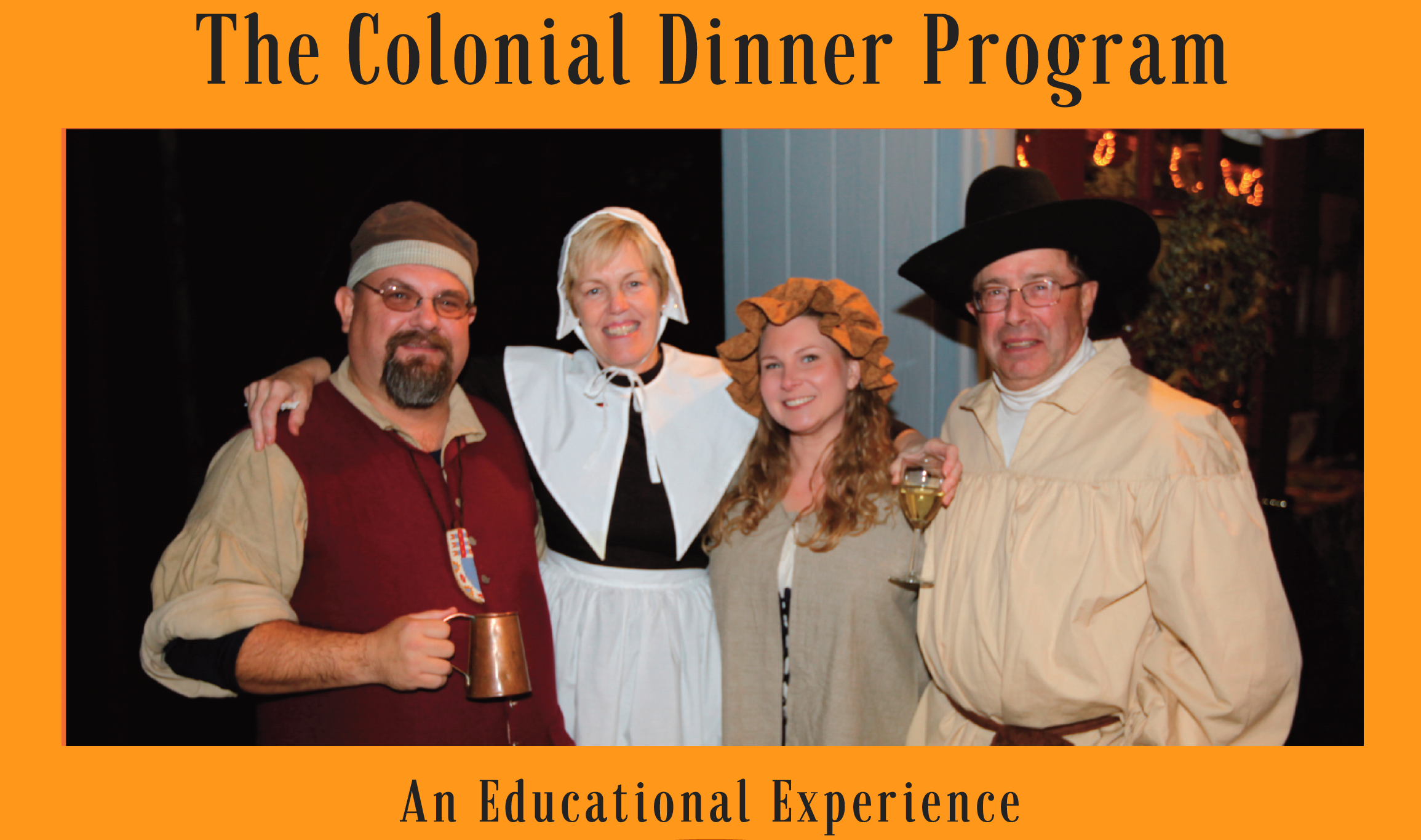 Colonial Dinner Event a Success!